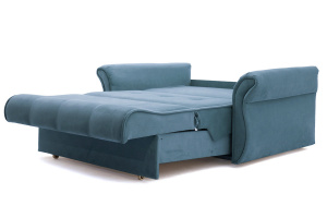Прямой диван Аккорд-5 (120) Maserati Blue Спальное место