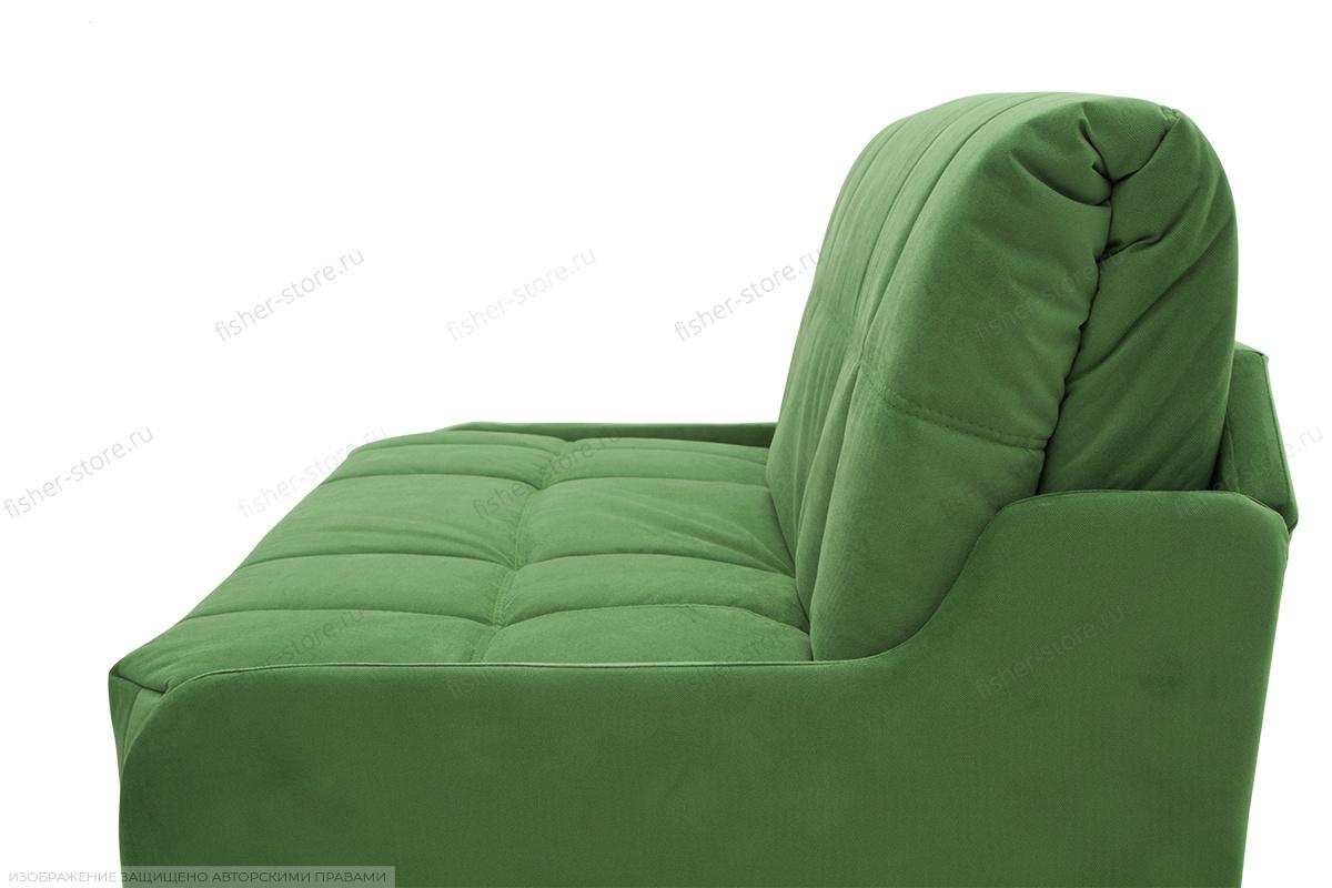 Прямой диван Виа-8 Maserati Green Текстура ткани