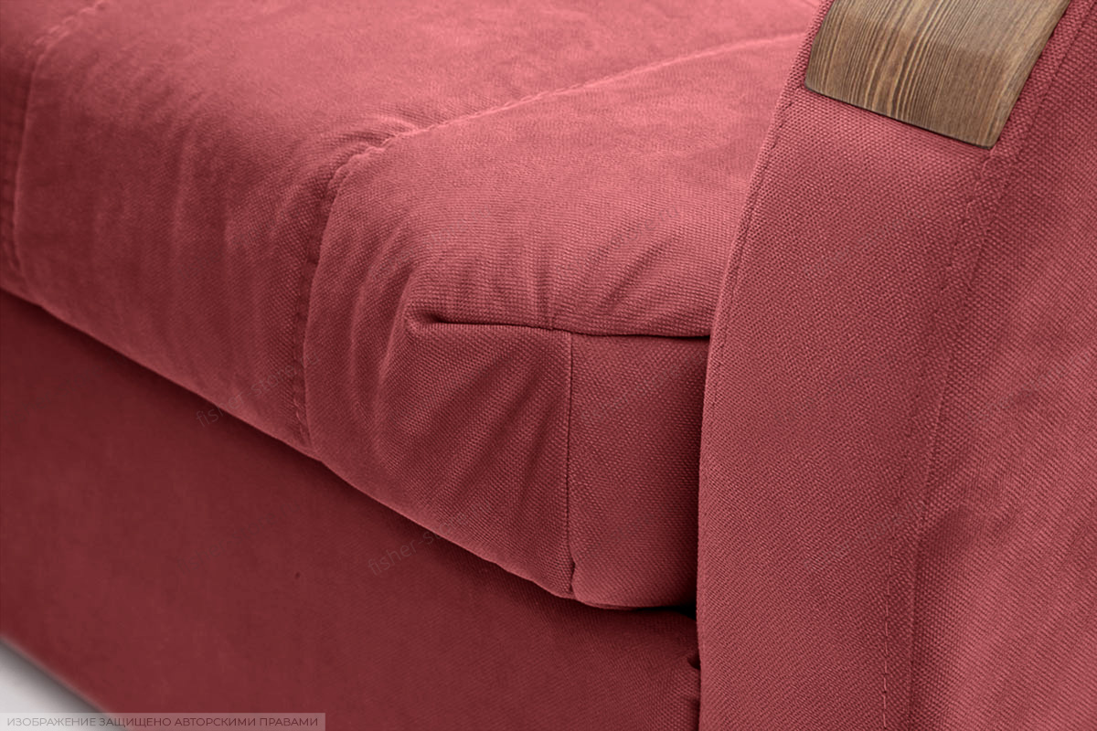 Прямой диван Виа-6 Amigo Berry Текстура ткани