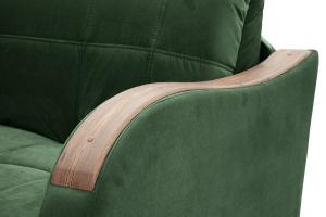 Прямой диван Виа-6 Amigo Green Подлокотник