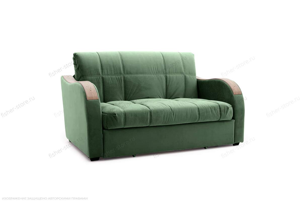Прямой диван Виа-6 Amigo Green Вид сбоку
