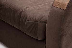 Прямой диван Виа-6 Amigo Brown Текстура ткани