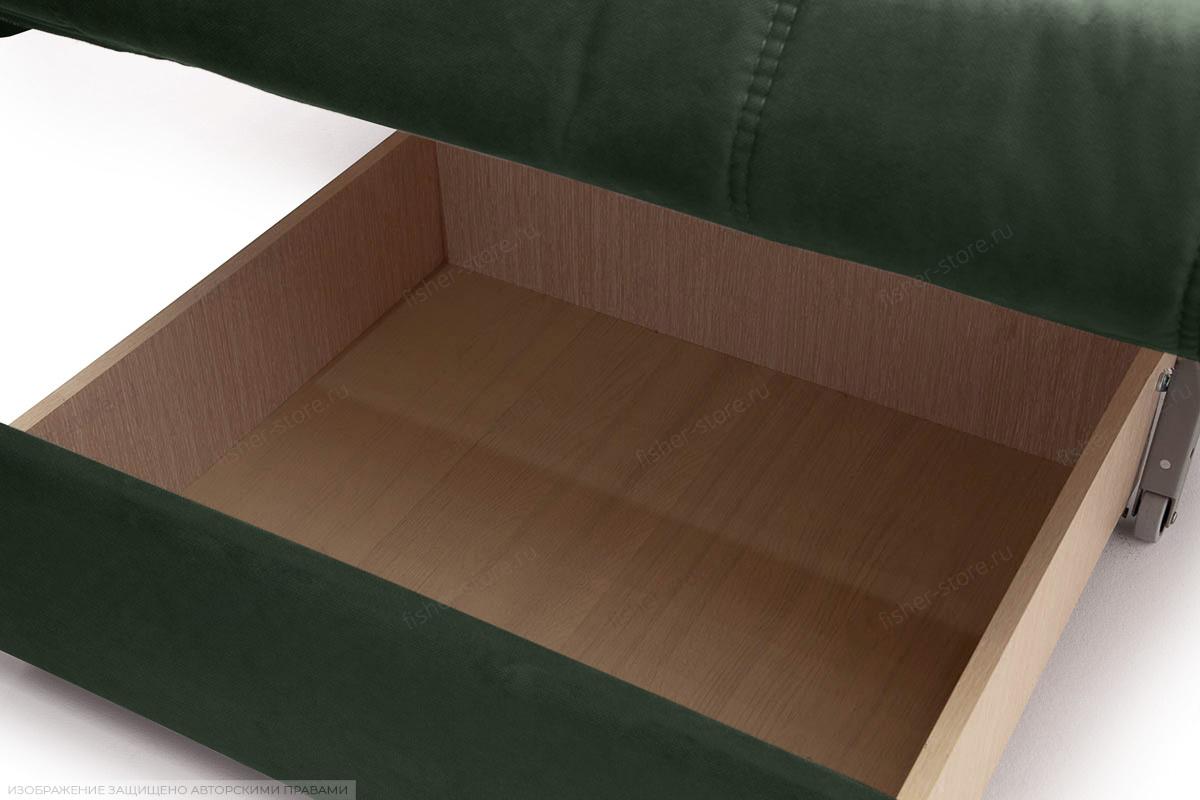 Прямой диван Виа-6 Amigo Green Ящик для белья