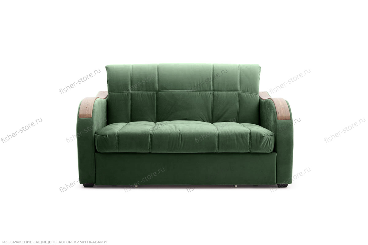 Прямой диван Виа-6 Amigo Green Вид спереди