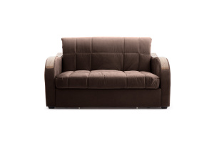 Прямой диван Виа-6 Amigo Brown Вид спереди
