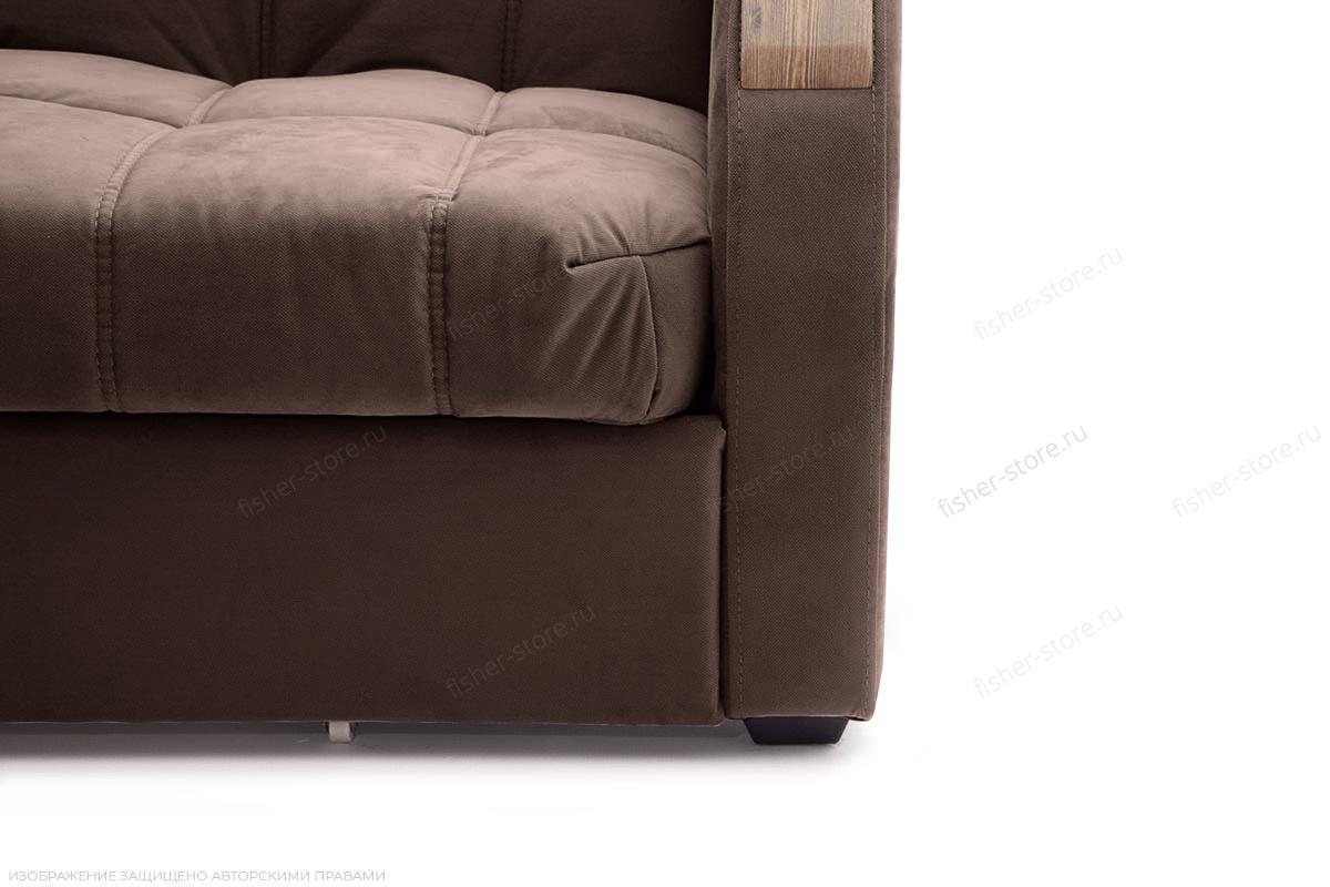 Прямой диван Виа-6 Amigo Brown Ножки