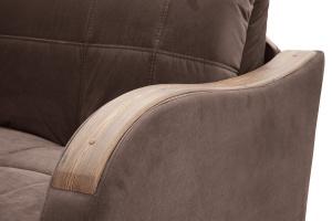 Прямой диван Виа-6 Amigo Brown Подлокотник