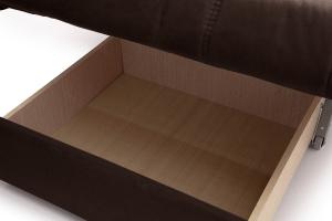 Прямой диван Виа-6 Amigo Brown Ящик для белья