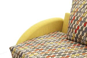 Софа Ода History Bricks + Orion Mustard Текстура ткани