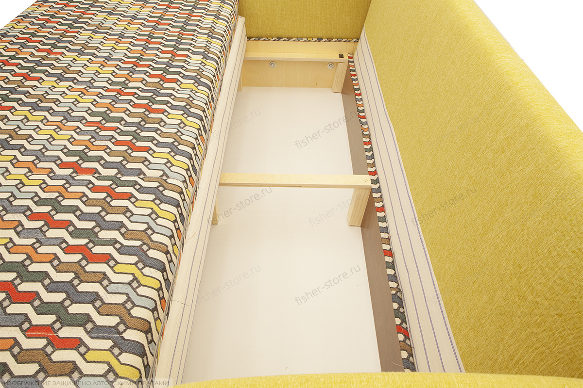 Софа Ода History Bricks + Orion Mustard Ящик для белья