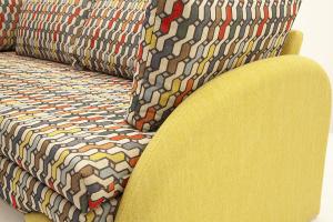 Софа Ода History Bricks + Orion Mustard Подлокотник