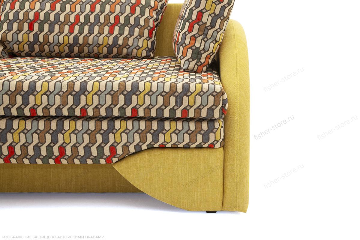 Софа Ода History Bricks + Orion Mustard Ножки