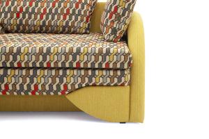 Светлый диван Ода History Bricks + Orion Mustard Ножки