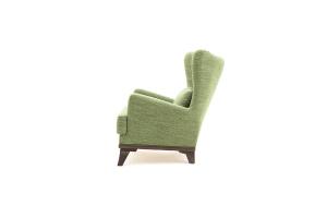 Кресло Адам люкс Orion Green Вид сбоку