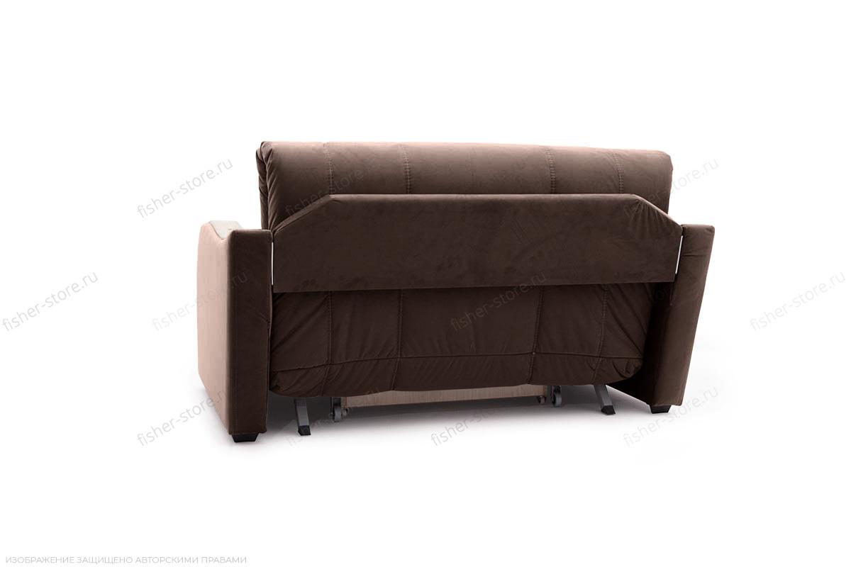 Прямой диван Виа-6 Amigo Brown Вид сзади