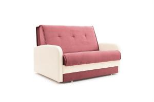 Прямой диван Аккорд (120) Amigo Berry + Sontex Milk Вид по диагонали