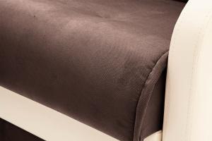 Диван Аккорд  Amigo Brown + Sontex Milk Текстура ткани