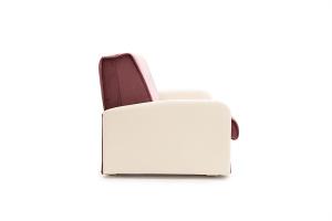 Прямой диван Аккорд (120) Amigo Berry + Sontex Milk Вид сбоку