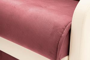Прямой диван Аккорд (120) Amigo Berry + Sontex Milk Текстура ткани