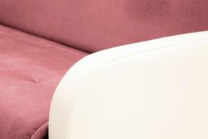 Прямой диван Аккорд (120) Amigo Berry + Sontex Milk Подлокотник