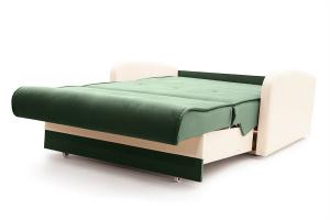 Прямой диван Аккорд  Amigo Green + Sontex Milk Спальное место