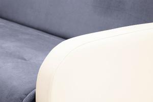 Прямой диван Аккорд  Amigo Navy + Sontex Milk Подлокотник