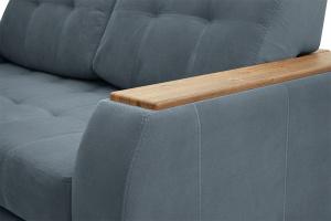 Двуспальный диван Берлин-2 Maserati Gray blue Подлокотник