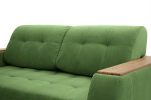 Прямой диван Берлин-2 Maserati Green Подушки