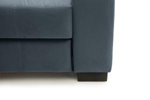Двуспальный диван Берлин-2 Maserati Gray blue Ножки