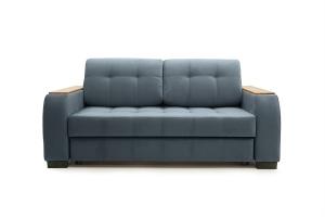 Двуспальный диван Берлин-2 Maserati Gray blue Вид спереди
