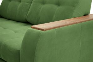 Прямой диван Берлин-2 Maserati Green Подлокотник