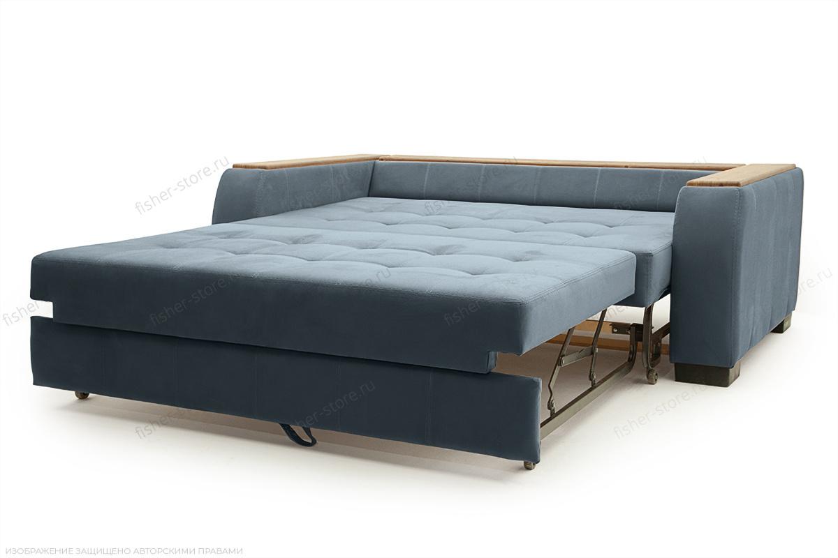Двуспальный диван Берлин-2 Maserati Gray blue Спальное место
