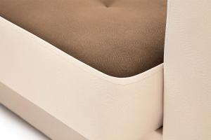 Прямой диван Берри люкс Maserati Brown + Beight Текстура ткани