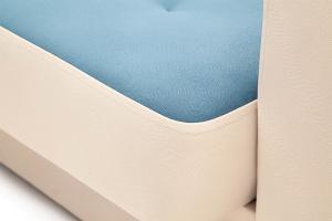 Диван Берри люкс Maserati Blue + Beight Текстура ткани