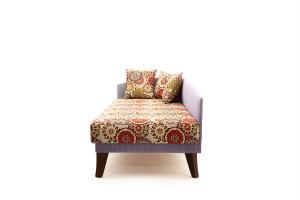 Двуспальный диван Парус-2 с опорой №11 History Summer + Orion Lilac Вид сбоку