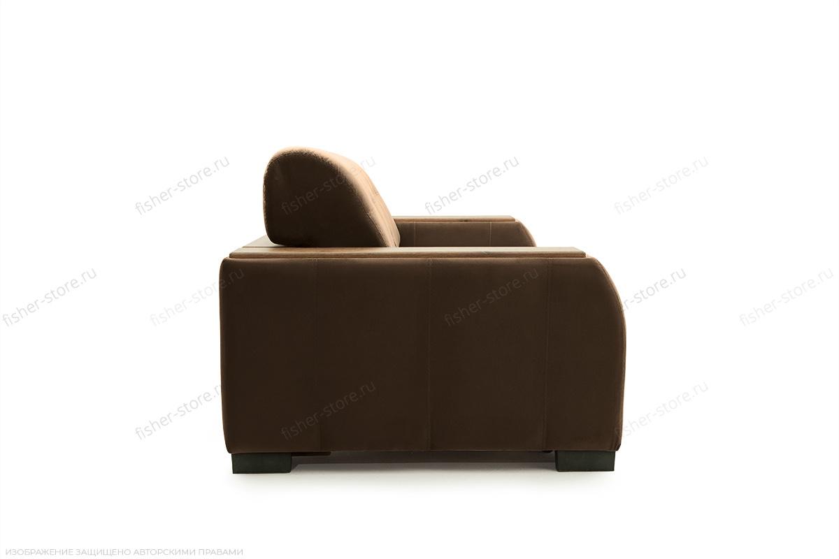 Прямой диван Берлин-2 Maserati Brown Вид сбоку