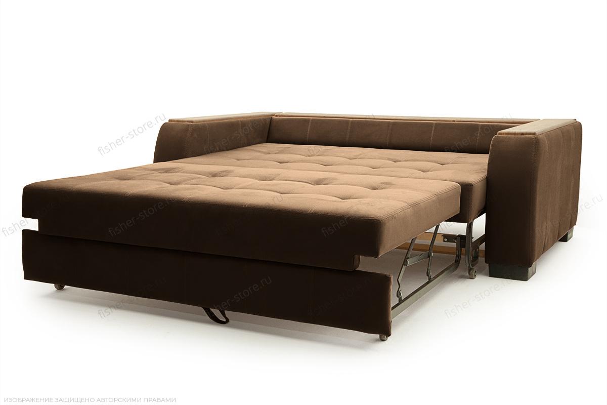 Прямой диван Берлин-2 Maserati Brown Спальное место