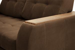 Прямой диван Берлин-2 Maserati Brown Подлокотник