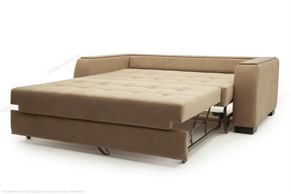 Прямой диван Берлин-2 Maserati Light brown Спальное место
