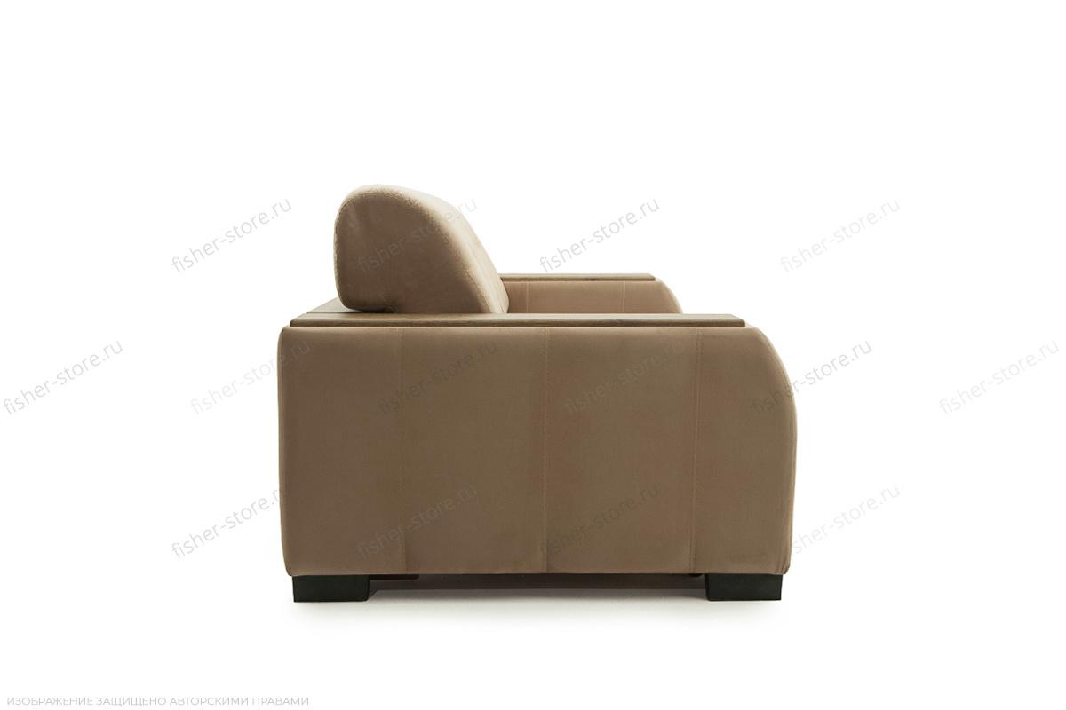 Прямой диван Берлин-2 Maserati Light brown Вид сбоку