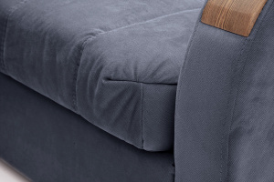 Прямой диван Виа-6 Amigo Navy Текстура ткани