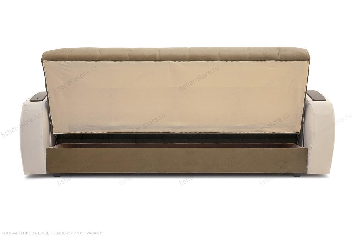 Двуспальный диван Вито-4 Maserati Light Brown + White Вид сзади