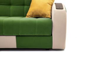 Прямой диван Вито-4 Maserati Green + White Ножки