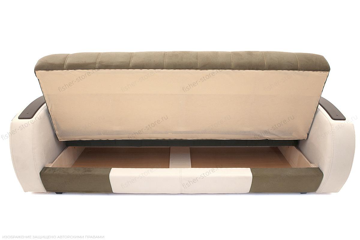 Двуспальный диван Вито-4 Maserati Light Brown + White Ящик для белья