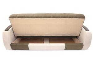 Прямой диван Вито-4 Maserati Light Brown + White Ящик для белья