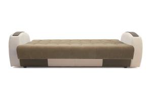 Прямой диван Вито-4 Maserati Light Brown + White Спальное место
