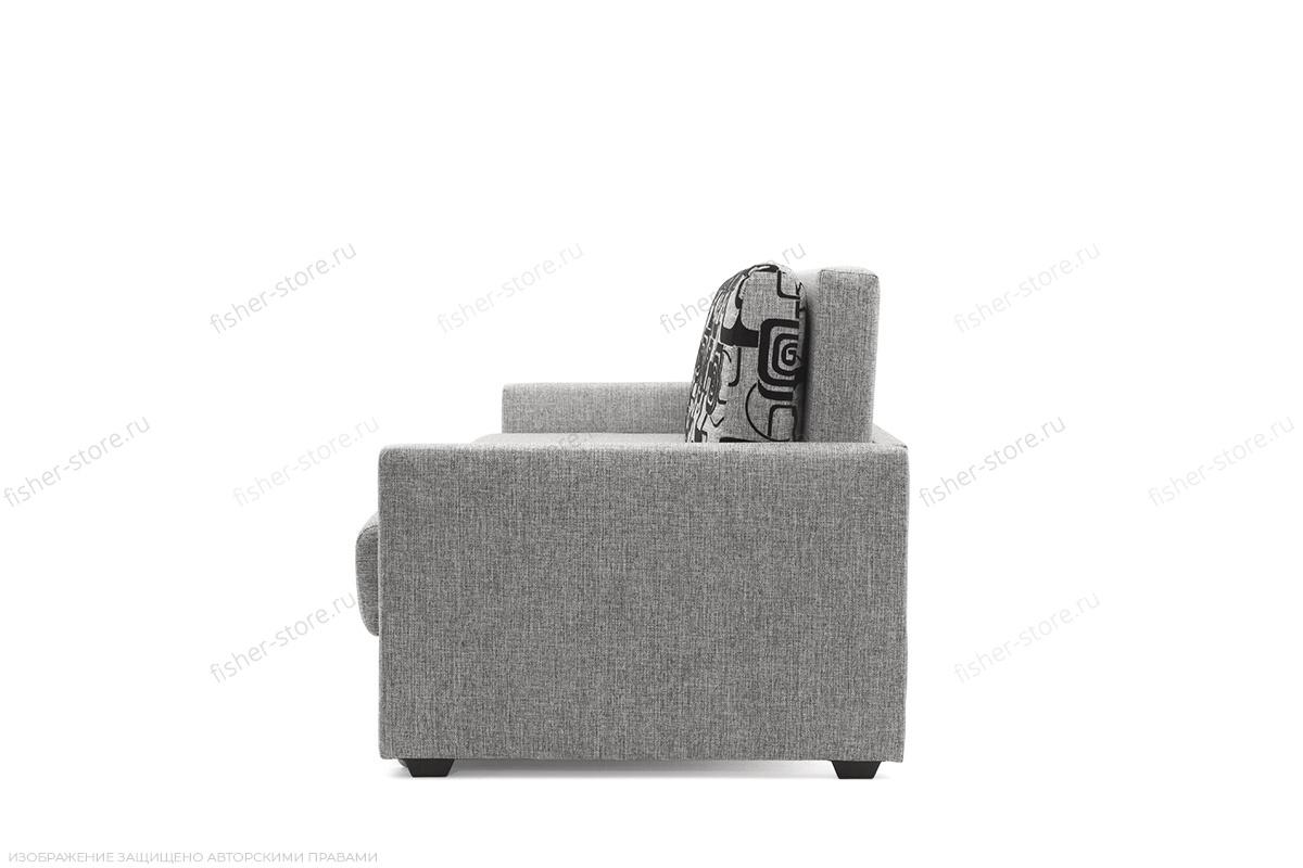 Прямой диван Джексон Grey + Grey TV Вид сбоку