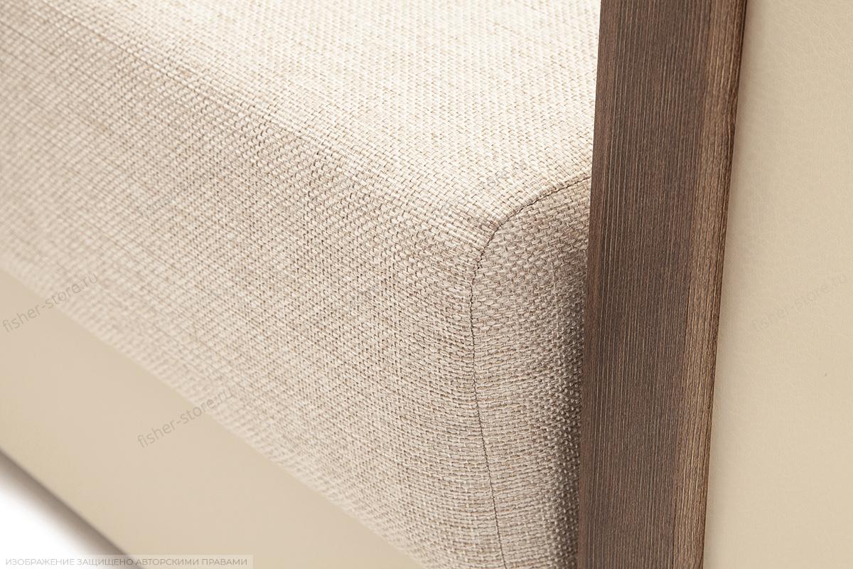 Двуспальный диван Джексон с накладками МДФ Beight + Sontex Beight Текстура ткани