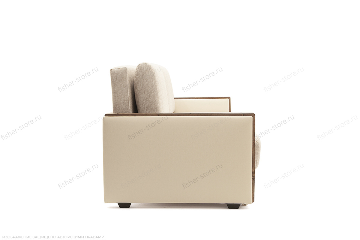 Двуспальный диван Джексон с накладками МДФ Beight + Sontex Beight Вид сбоку