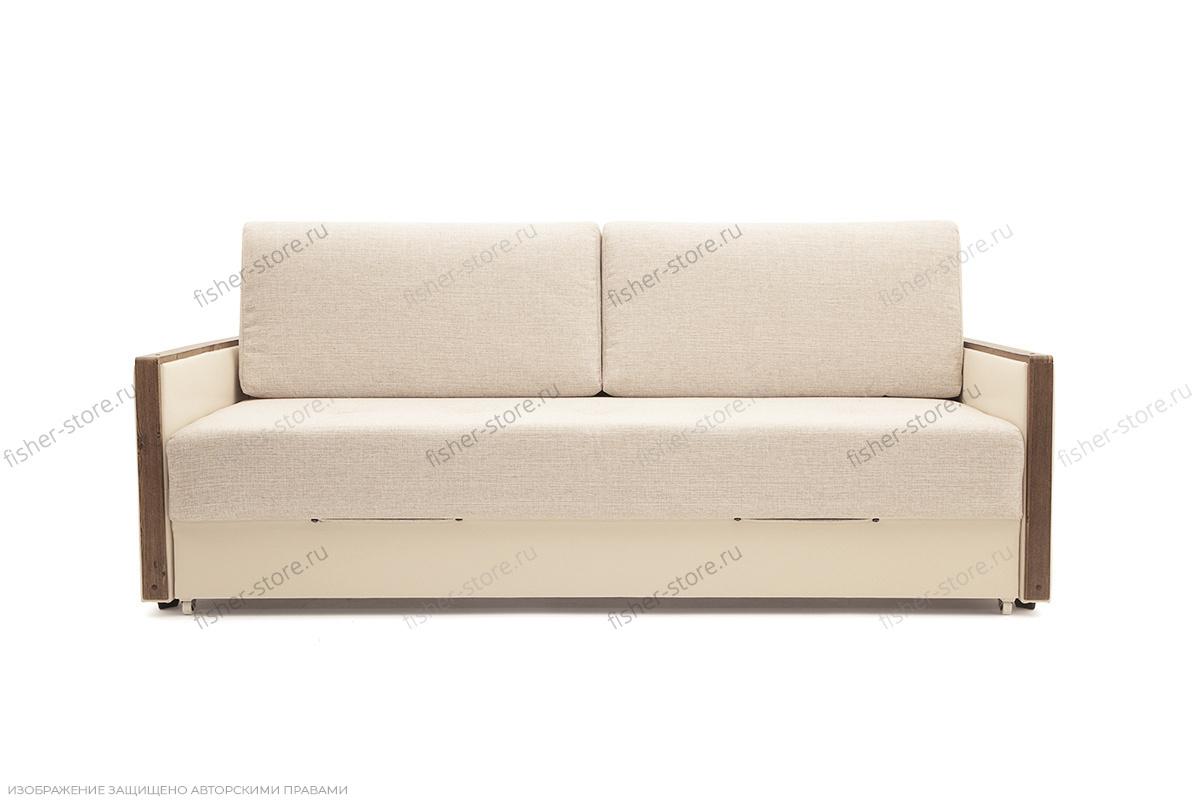 Двуспальный диван Джексон с накладками МДФ Beight + Sontex Beight Вид спереди